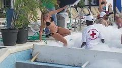 Вечеринка с ямайкой у бассейна на Ямайке
