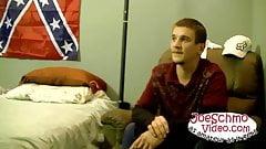 Sean Johansen enjoying his own dick