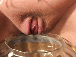 Pee from anal sex - Huge tits and a little pee from my sexy pink pussy