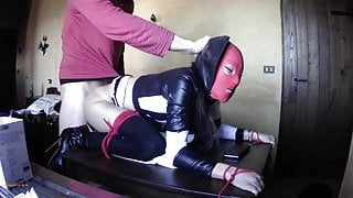 Laura On Heels bound on table and fucked hard, 2021