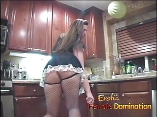 Sissy french maids sucking huge cocks French maid sucks a dick and then hurts her man