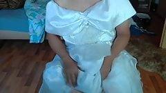 Wixen with wedding dress