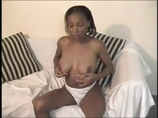 White meat cock Hot ebony chick likes white meat