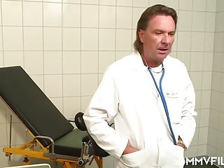Redhead doctor - The german fat cock doctor