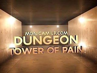 Back pain in teen boys - Monicamilf has a tower of pain in her dungeon norsk porno