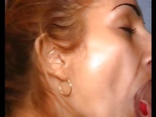 Red head wife loves big dick Red head gypsy slut sucking big dick