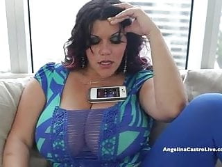 Cock hogger angelina - Big titted angelina castro desperate for spanish cock