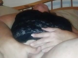 Girl playing with her wet pussy Playing with her wet pussy