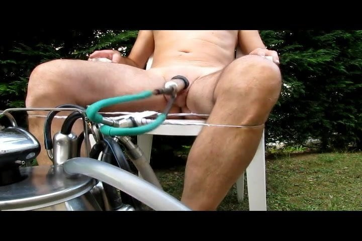 Male Bondage Milking Machine