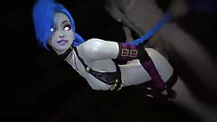 SFM League of Legends - Jinx takes it from behind