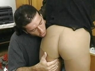 Mature pantyhose fucked Saggy assed mature fucked in pantyhose
