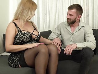 Huge tit mom on son movies Mature mom with huge saggy tits fucks son