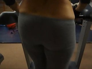 Shemale asin videos Asin girl flashing ass on treadmill