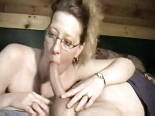 Neighbor ass Housewife amazing blowjob on neighbor