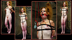 Redhead MILF Predicament Bondage