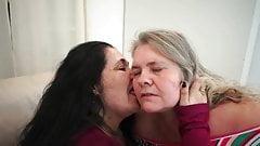 Lez Vid With Joyce & Antonella (Face Lick Kiss Ass Worship)