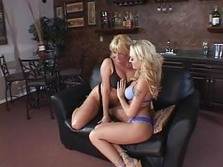 Dildo and heels - Wicked blonde lesbians in tattoos and heels dildo fuck each others juicy cunts