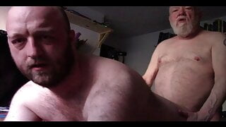 Daddy wakes up horny