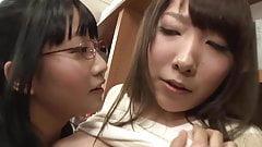 Asian Schoolgirl Makes Teacher Squirt in Library