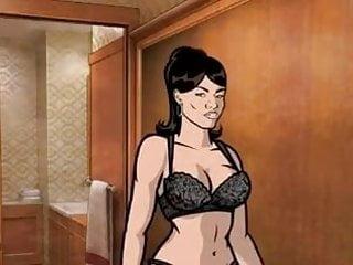 Archer cartoon sex Archer porn video