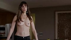 Amanda Peet Topless in Togetherness (Slow Motion)