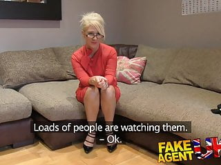 Massive milf Fakeagentuk massive facial for hot blonde milf