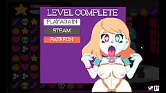 Spooky Starlet Pixel Pornstar Hentai Game Ep1 Candy crush