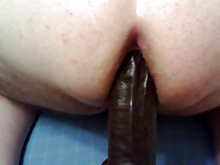 12 inch jelly vibrator - Cumming on the 12 inch bam