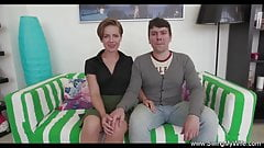 Shorthaired Brunette Cheating Wife