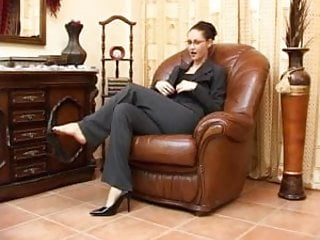 Asian home accent - High heels and an accent. joi