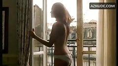 E, Seigner 1985 movie in white satin panties w great folding