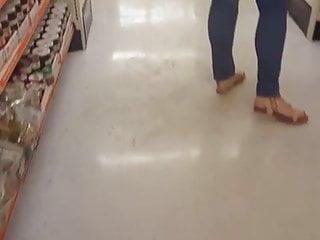 Tall white sluts Candid tall white latina booty at big lots