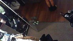 Russian mom tits hidden cam leak (NS)