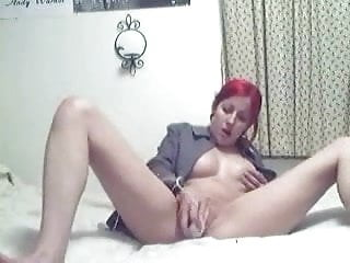 Hot red head head porn Hot red head masturbating