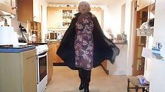 Mackintosh foderato in gomma vintage marlbeck