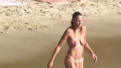 naked nudist sport girl take a bath