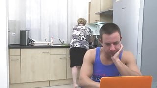 taboo sex with big granny and boy compilation homemade