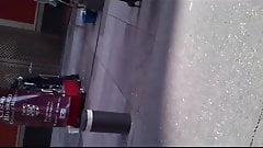 Madurita Falda roja con pantimedias