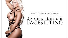 The Upskirt Collection: Sasha Leigh Facesitting