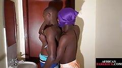 Cockblowing nubian twunk barebacking amateur