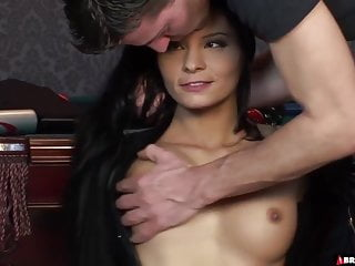 Cumming cocks on xtube - Young slut takes two cocks on the pool table