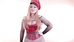 Red PVC Mistress, JOI part 2