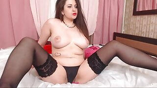 Russian girl shows herself nude