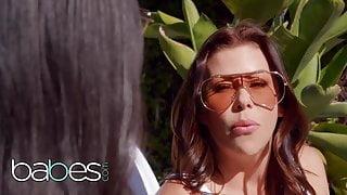 StepMom Alexis Fawx Shows Eliza Ibarra How It's Done - BABES