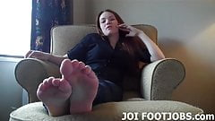 I am going to give you an amazing footjob JOI