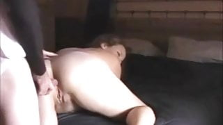 Fat Chubby Ex Girlfriend teaching Virgin BF Anal Sex