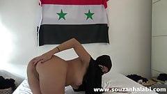 Submissive Arab in Hijab Fucked Hard syria muslim sex