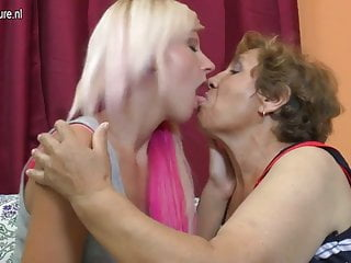 Old grandmother get fucked - Old lesbian grandmother fucks a cute girl