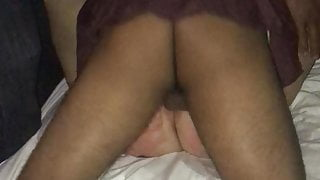 Wife at party
