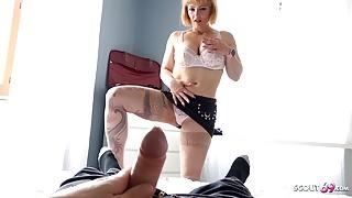 Big Tits Step Mom Mary Caught Step Son Masturbate and Finish Him